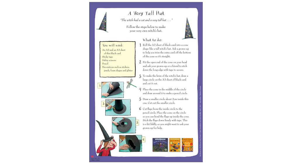 a-very-tall-hat-activity-sheet