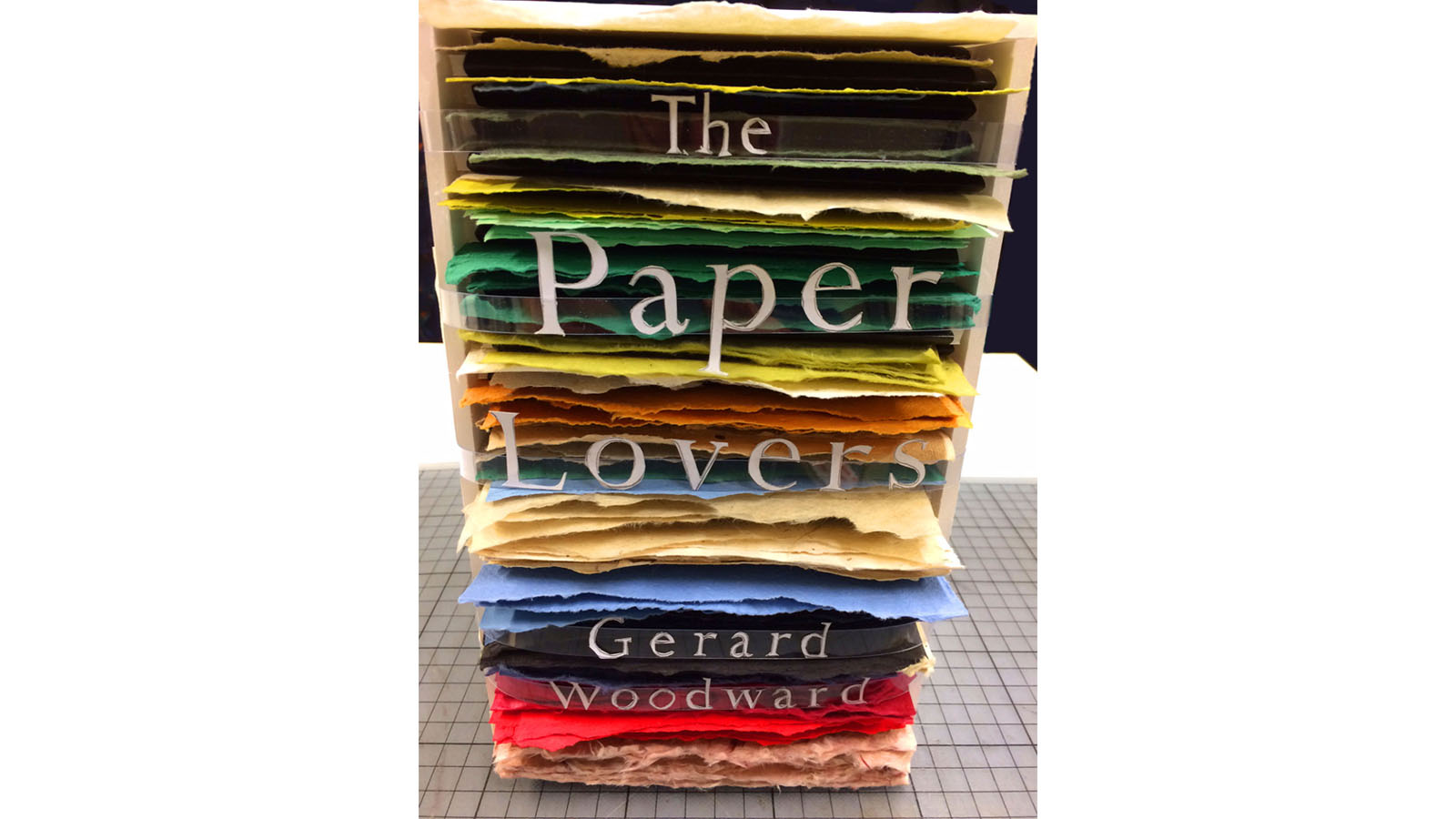Gerard Woodward The Paper Lovers cover design 4