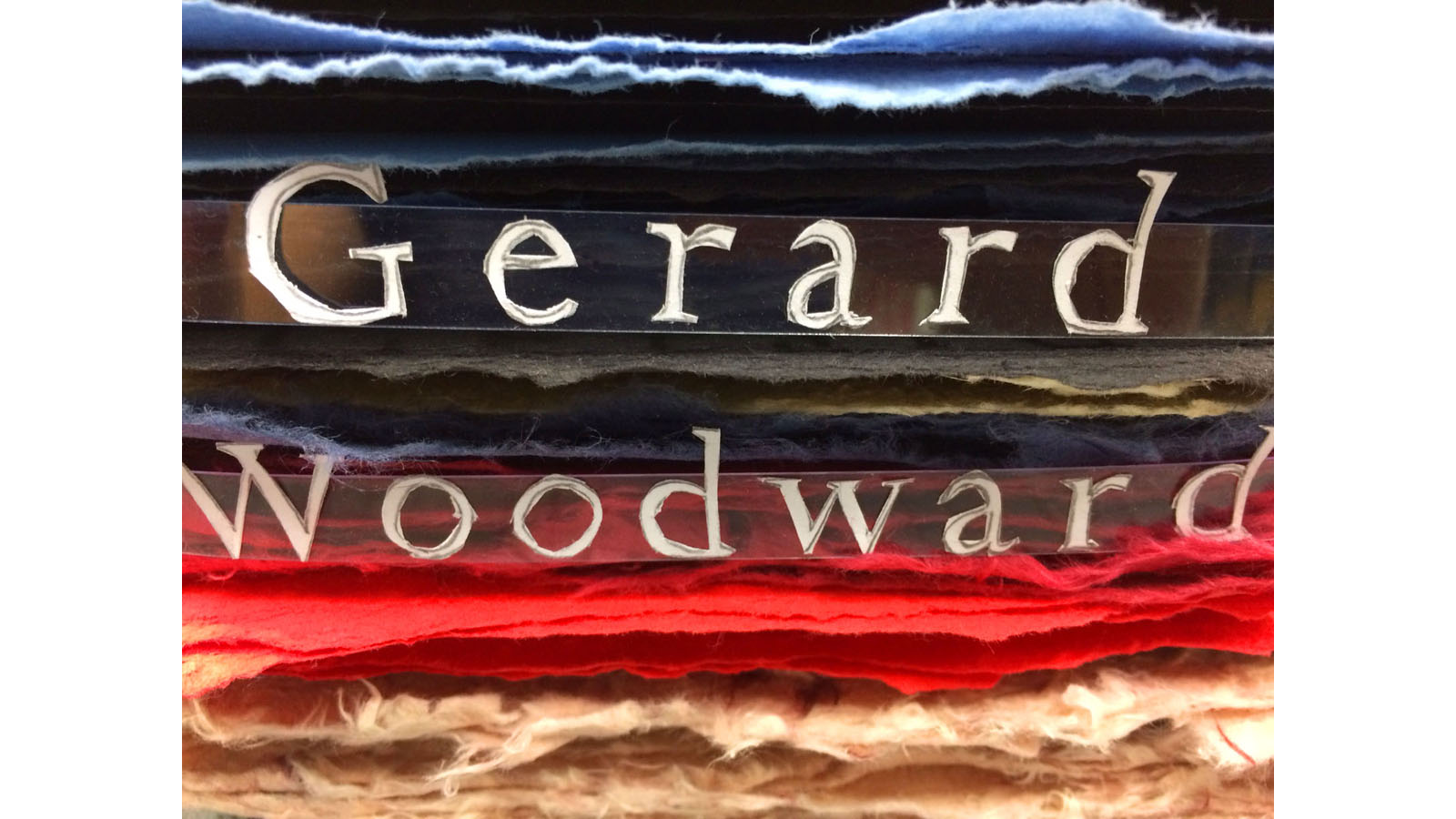 Gerard Woodward The Paper Lovers cover design 1
