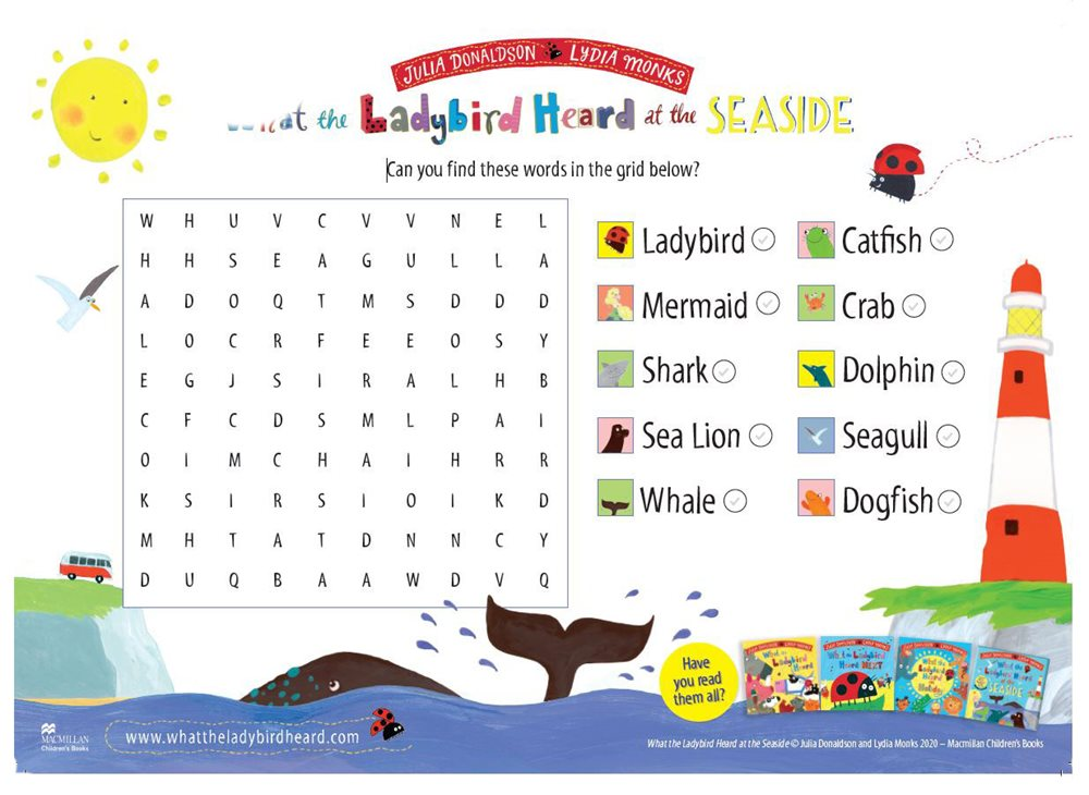 what-the-ladybird-heard-at-the-seaside-wordsearch
