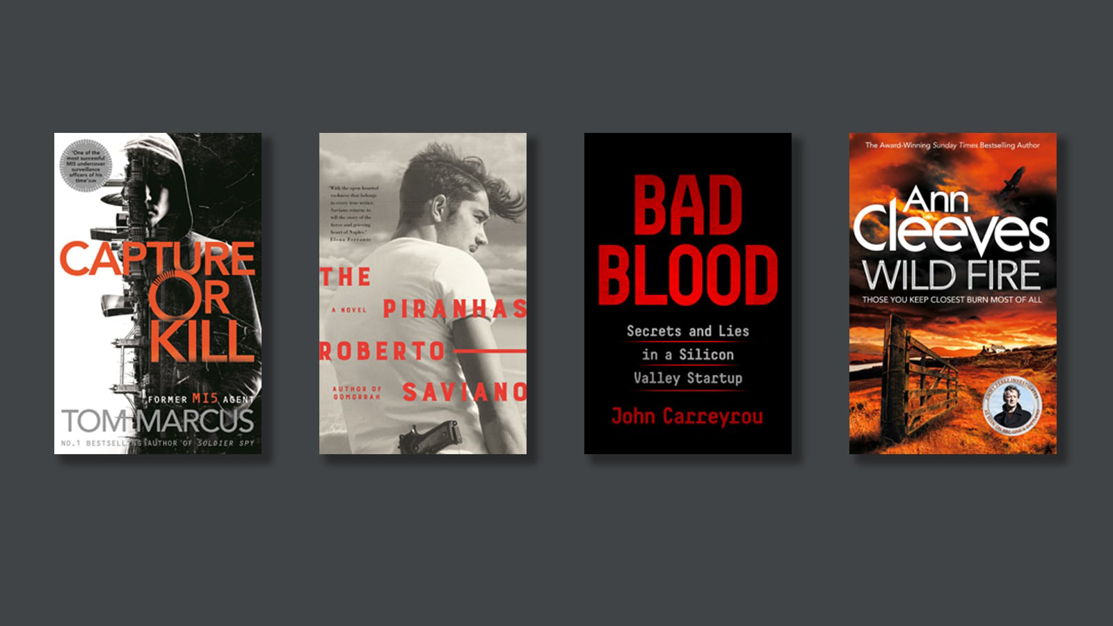 New crime and thriller books to read