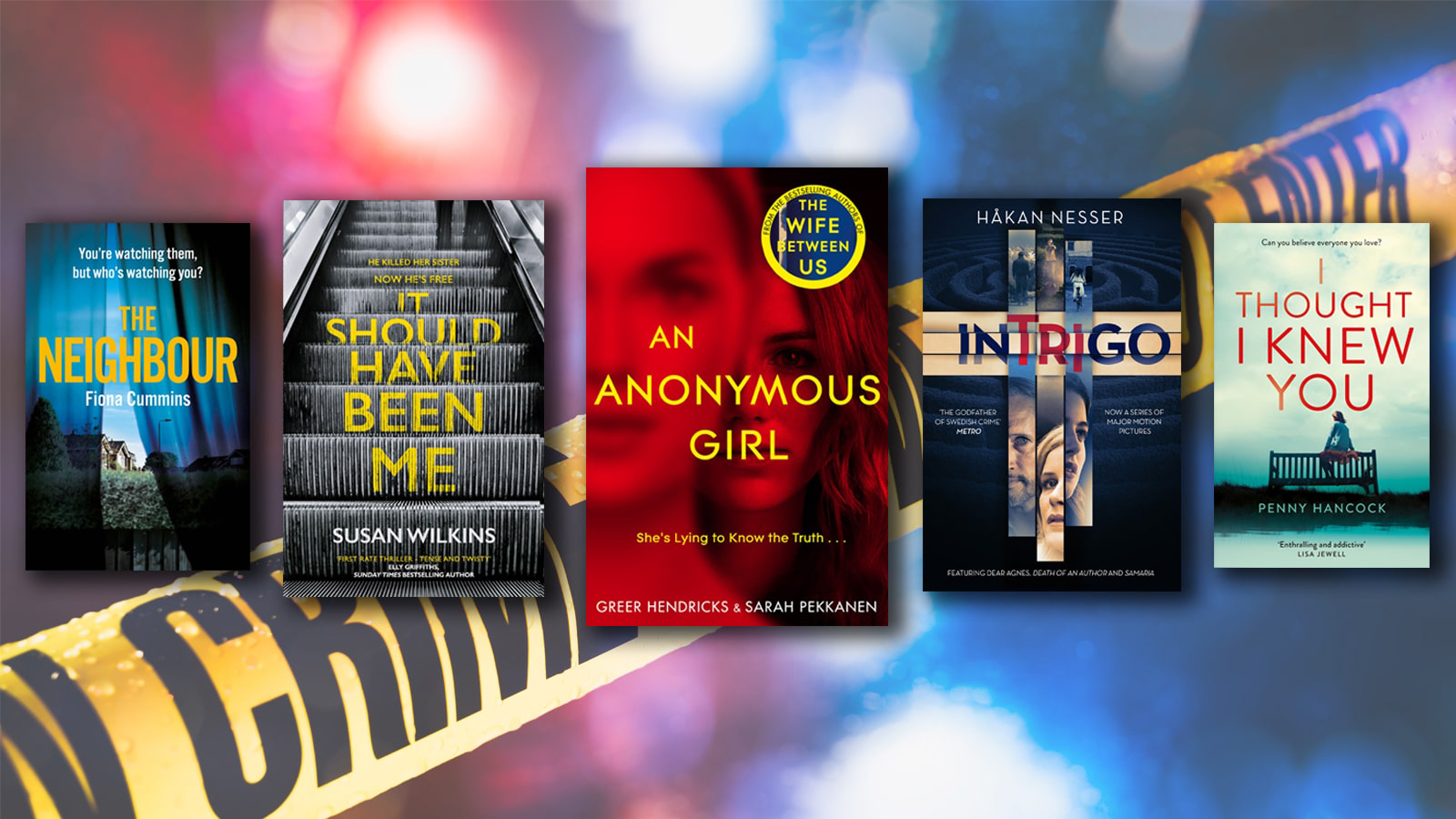 New To You >> Best New Crime And Thriller Book Releases In 2019