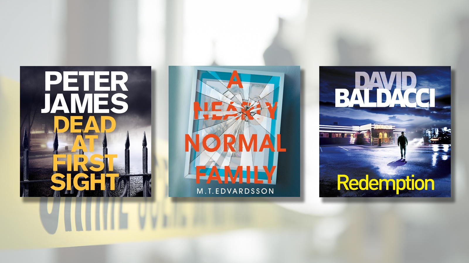 The best crime and thriller audiobooks