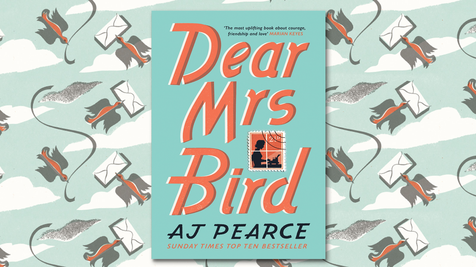 Dear Mrs Bird by AJ Pearce: a design story