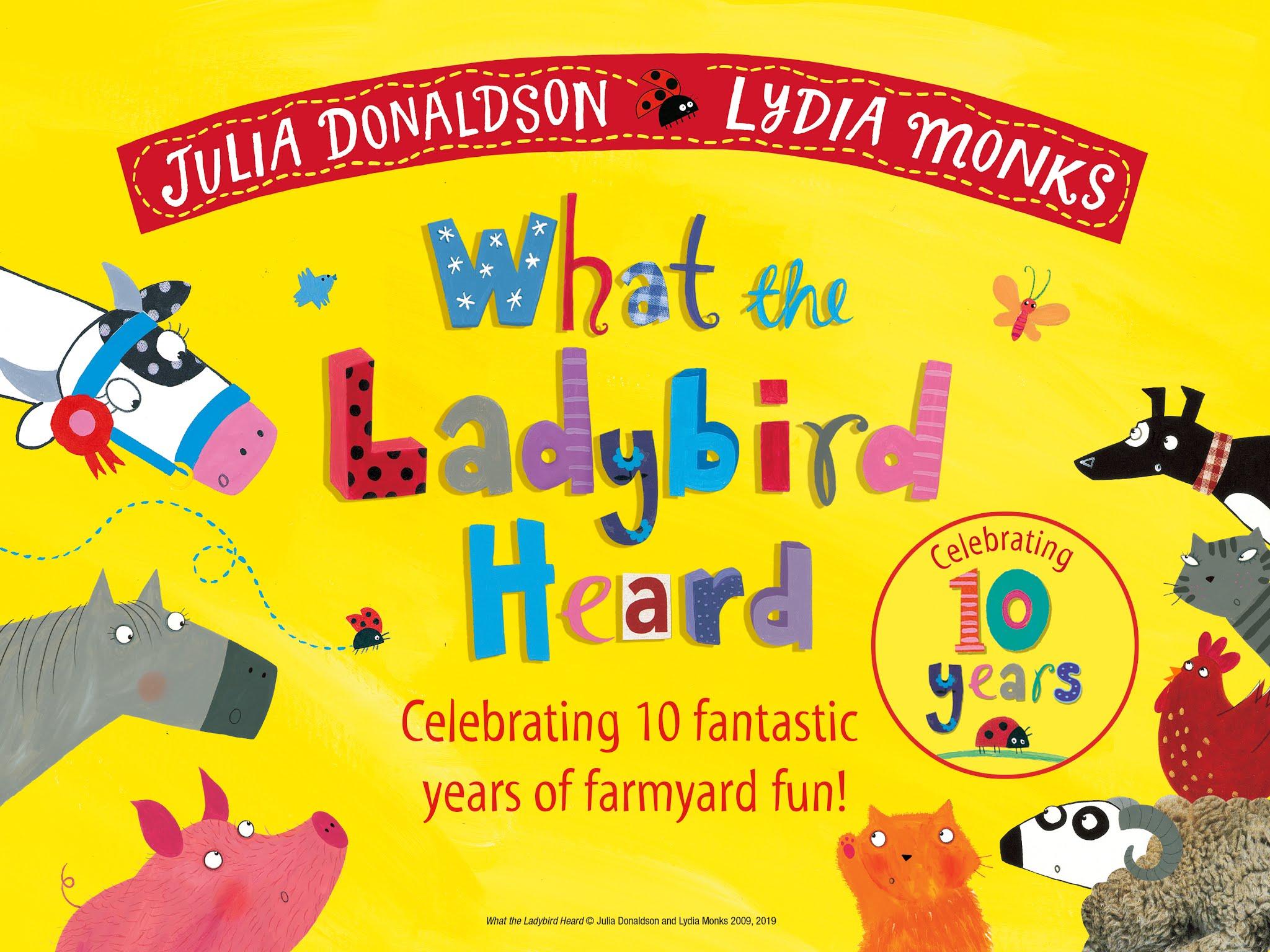 What The Ladybird Heard activities
