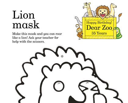 Dear Zoo activities for kids