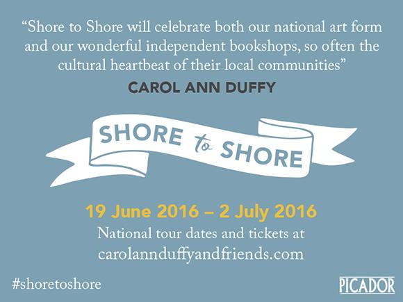 Shore To Shore: Carol Ann Duffy's poetry bus playlist