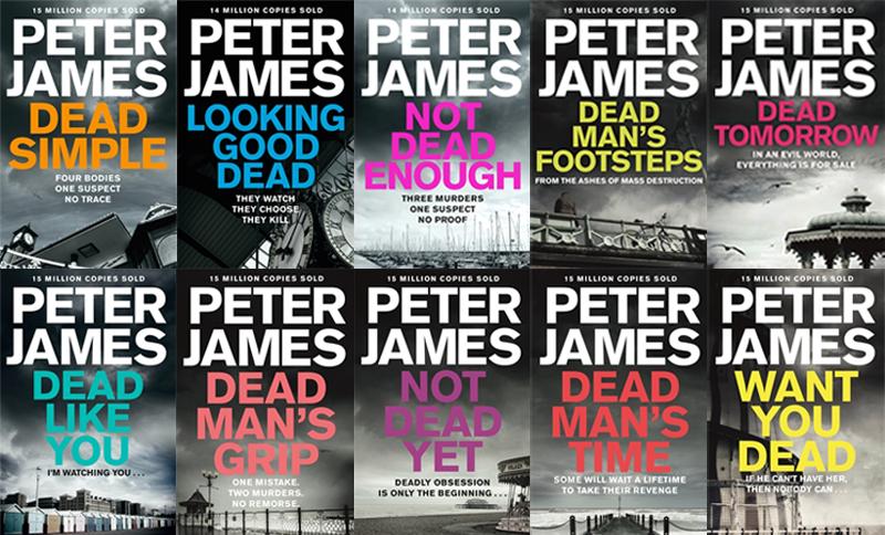peter james grace roy order books series audio crime interview panmacmillan march seven blogs