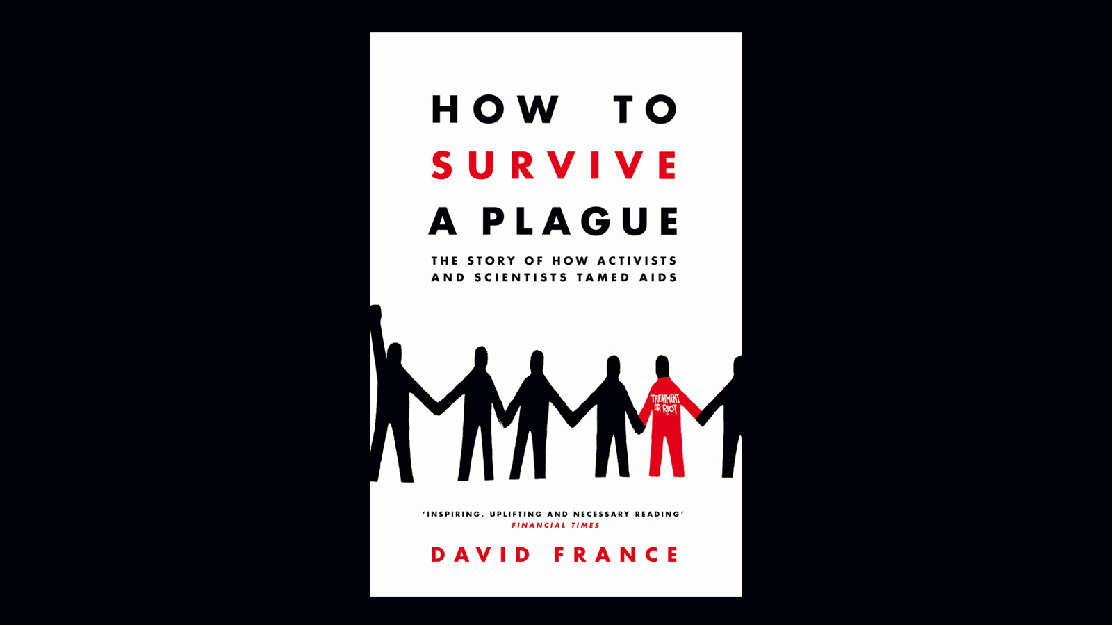 We are thrilled to share the news that David France's How To Survive a  Plague has been awarded the 2017 Baillie Gifford prize for non-fiction.