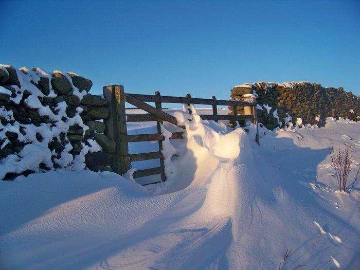 winter at long preston