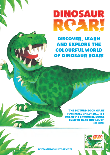 Dinosaur Roar! Activity Pack