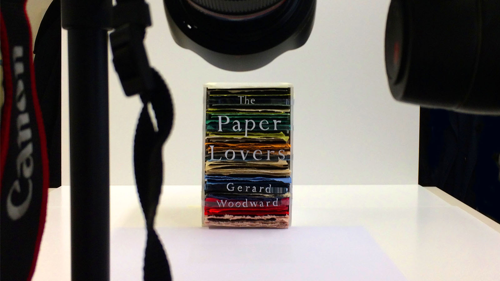 Gerard Woodward The Paper Lovers cover design 2