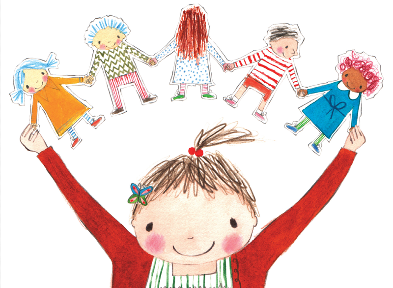 Make Julia Donaldson's Paper Dolls at home