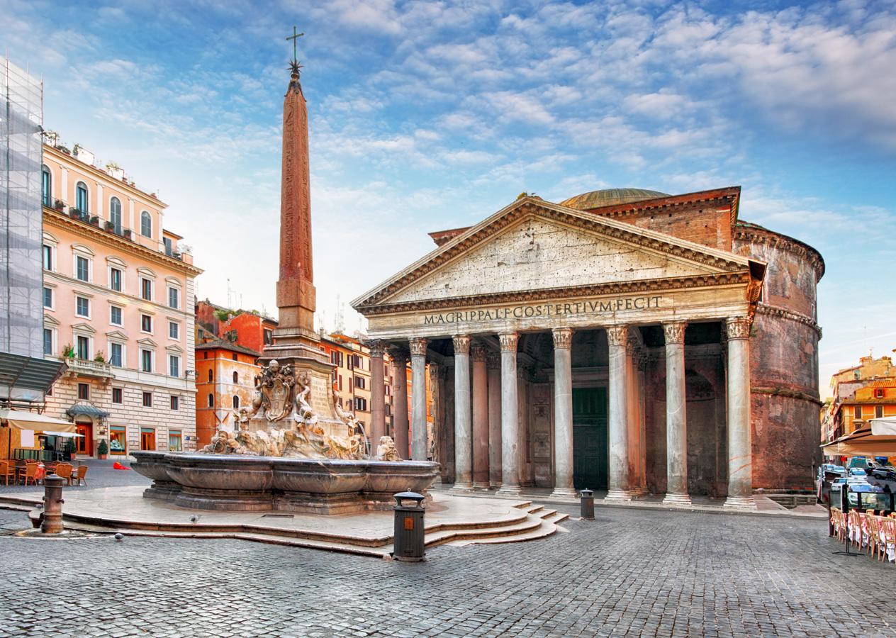 Rome-Pantheon-Sunset