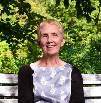 Ann Cleeves and Mari Hannah at Central Library