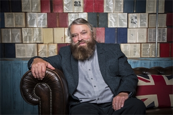 Brian Blessed at Ely Cathedral