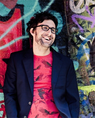 Mark Watson at Hay Festival Winter Weekend