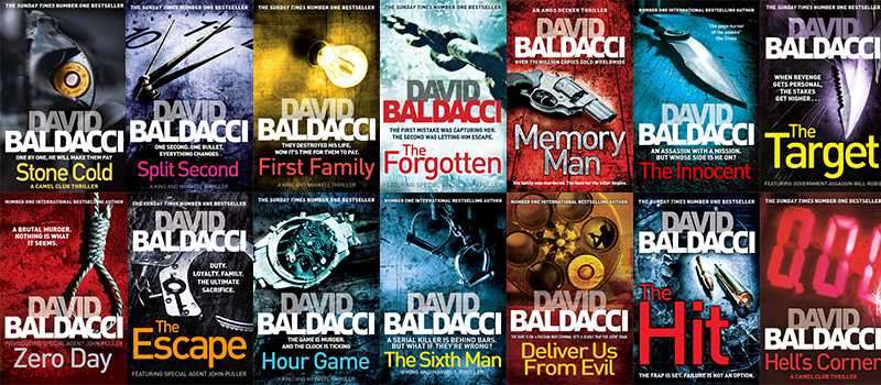 Image result for david baldacci books