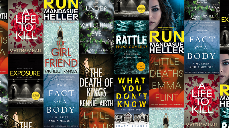 New crime and thriller books to read in 2017
