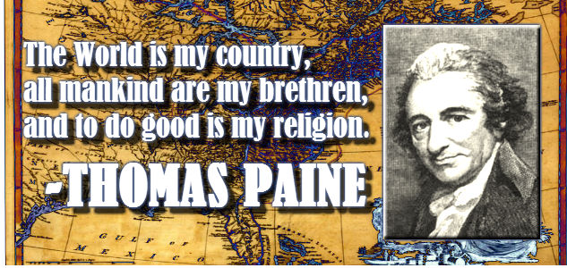 thomas paine essays on religion
