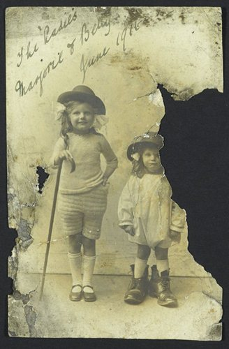 cove daughters. liddle collection. reproduced with the permission of leeds university library