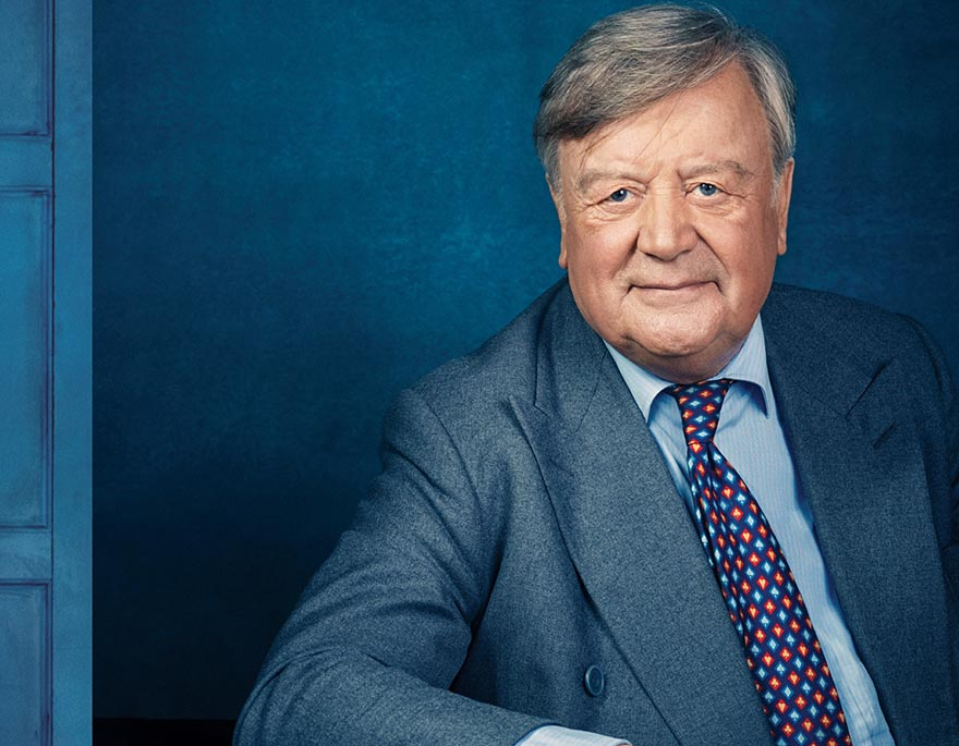 Ken Clarke at Ilkley Festival of Literature