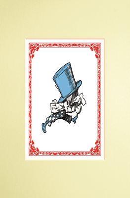 The Macmillan Alice: Mad Hatter Print