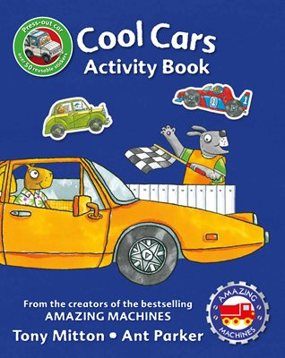 Book cover for Amazing Machines Cool Cars Activity Book