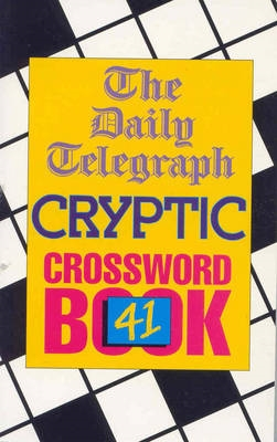Daily Telegraph Cryptic Crossword Book 41
