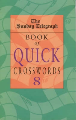 Book cover for Sunday Telegraph Book of Quick...