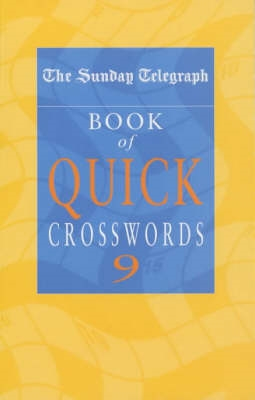 Sunday Telegraph Book of Quick Crosswords 9