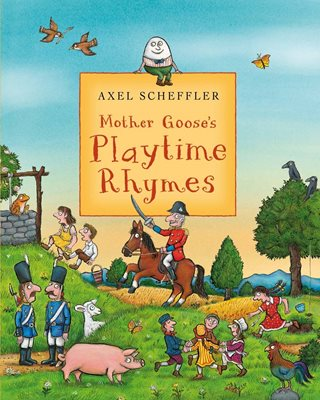 Book cover for Mother Goose's Playtime Rhymes