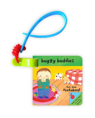 Book cover for Little Peekaboo Buggy Buddies: Red...