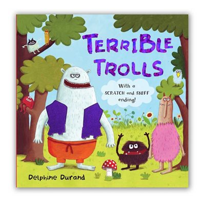 Book cover for Terrible Trolls