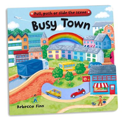 Book cover for Busy Books: Busy Town