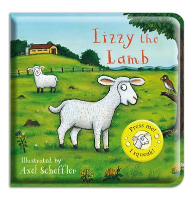 Book cover for Lizzy the Lamb Bath Book