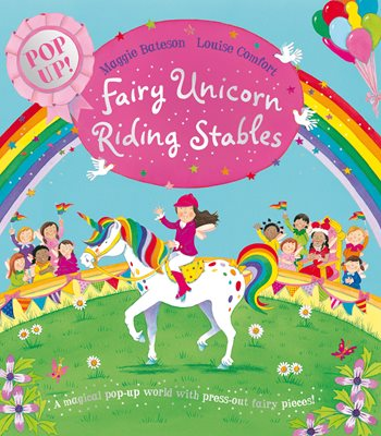 Book cover for Fairy Unicorn Riding Stables