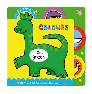 Book cover for PULL AND PLAY Colours