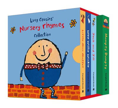 Book cover for Lucy Cousins' Nursery Rhymes Collection