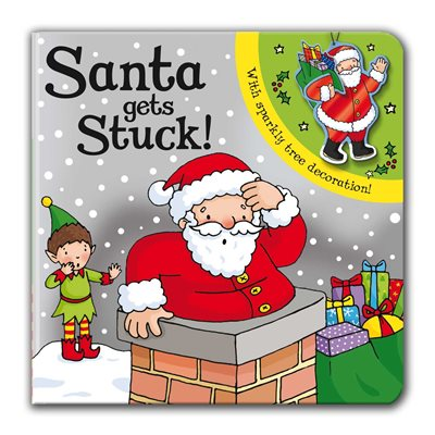 Book cover for Santa Gets Stuck!