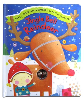 Book cover for Jingle Bell Reindeer