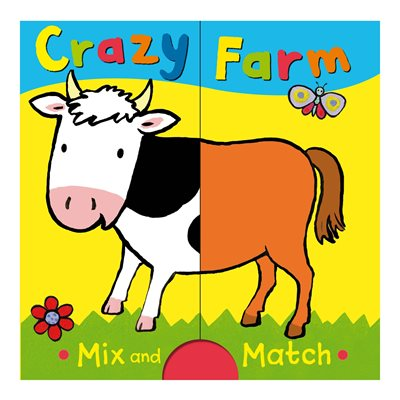 Book cover for Crazy Farm: Mix and Match