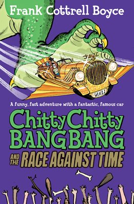 Book cover for Chitty Chitty Bang Bang and the Race...