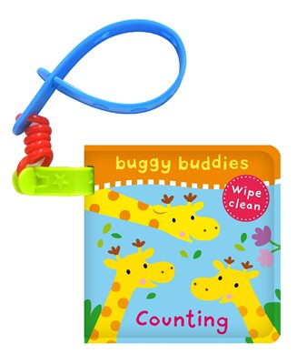 Book cover for Wipe-Clean Buggy Buddies: Counting