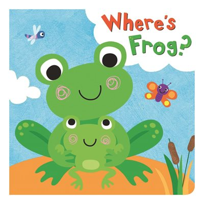 Book cover for Squeaky Bath Books: Where's Frog?