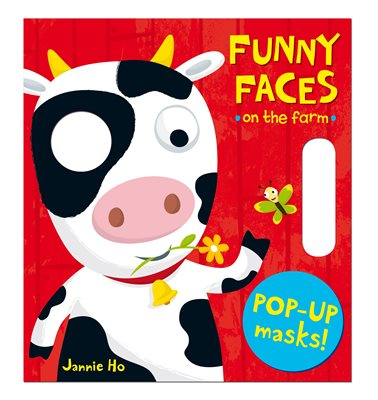 Book cover for Funny Faces: On the Farm