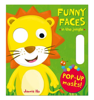 Book cover for Funny Faces: In the Jungle