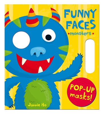 Book cover for Funny Faces: Monsters