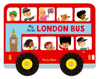 Book cover for Whizzy Wheels: My First London Bus