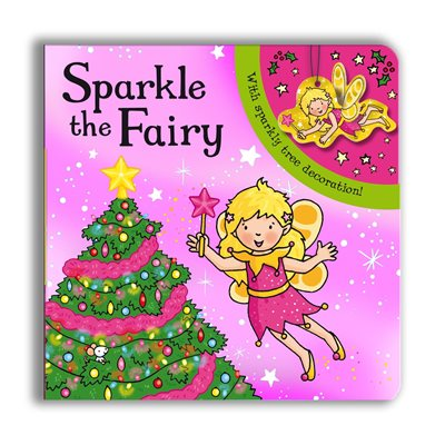 Book cover for Sparkly Christmas: Sparkle the Fairy!